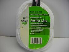 Wellington Light Load 1/4 inch x 50 foot Anchor Line braided poly-pro