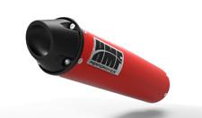 HMF Performance Red/Black Euro Cap Slip On Exhaust Pipe Honda TRX400EX 400X