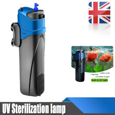 UV Sterilizer Submersible Oxygen Water Pump Filter Cycle Aquarium Fish Tank Hot