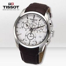 TISSOT COUTURIER MEN'S WATCH CHRONO SAPPHIRE LEA SPORTS T0356171603100 NEW
