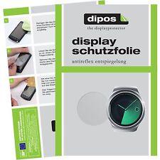 6x Samsung Gear S2 Schutzfolie matt Displayschutzfolie Gear S 2 Folie dipos