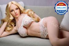 1/6 scale female Lace Bra Underwear Set WHITE for Phicen TBLeague female figure
