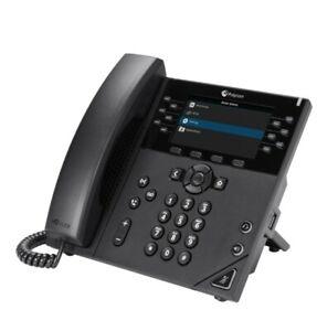 Polycom VVX 450 12-line high-performing IP Desk Phone, Designed For Executives
