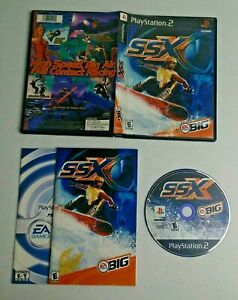 SSX (Sony PlayStation 2, 2000) Complete TESTED
