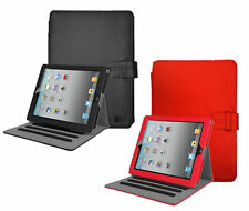 Case Logic Leather iPad Folio Case for iPad 4, iPad 3, iPad 2 (Black/Red)