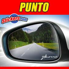 ADESIVI x specchietti  PUNTO '05 FIAT  - PVC effetto vetro smerigliato