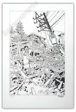 Affiche Lithographie Tardi Népal 2015 signée 70ex  35x50,7 cm