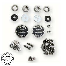 Porsche 356 Bosch horn restoration kit 2-hole data plates Replaces 64463500100