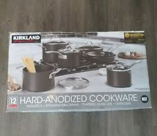 Kirkland Signature 12-piece Hard Anodized Cookware Set NEW FREE SHIPPING