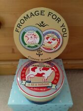 Camembert Baker. Cheese Dish. New And Boxed. Cow Design.