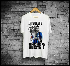 T-Shirt Inter 2010 maglia Materazzi Finale Champions Rivolete anche questa