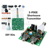 S-PIXIE 40M CW RADIO Shortwave Transmitter QRP Pixie Kit Receiver 7.023-7.026MHz