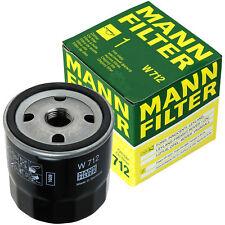 Original MANN-FILTER Ölfilter Oelfilter W 712 Oil Filter