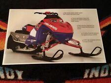 🏁 05 POLARIS INDY IQ 440 Snowmobile Poster  semi vintage race sled 440RR