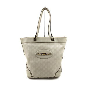 Gucci Tote Bag  Whites Leather 1717780