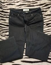 womens jeans 6 petite used stretch bootcut Faded Glory