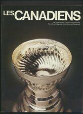 1980's Lot of 6 Montreal Canadiens NHL Hockey Program  2 Lafleur Covers Robinson