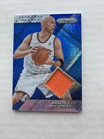 2014-15 Panini Prizm Jerseys Blue Mojo Prizms Jason Kidd #27 HOF NY Knicks