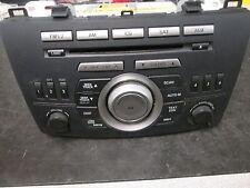 10 MAZDA 3 UDIO AM/FM RADIO SIX DISC CD PLAYER OEM #14799946 *See item*
