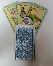 Vintage Card Game Happy Family Original Complete Set 48 1925 Carreras London UK