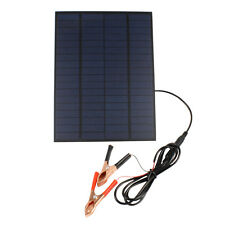5W 12V Solar Panel Portable Car Boat Yacht Vehicle Battery Charger For Driving