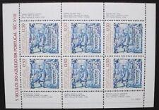 PORTUGAL 1983 Tiles 12th Series Horseman. SHEETLET. Mint Never Hinged. SGMS1942