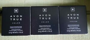 Avon True Color Matte Eye Shadow Quad, Tenderness Quad, lot of 3