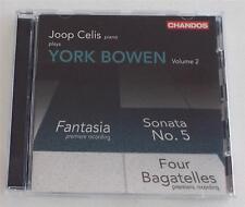 Joop Celis Plays York Bowen, Vol. 2 CD Chandos EU Pressing