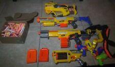 Nerf Alpha Trooper CS-18 Toy Gun Lot Of 11