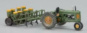 NEW Woodland HO Train Scenery Tractor & Planter Autoscene AS5565