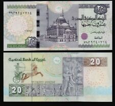 Egypt - P#New 1 x 20 Egyptian Pound 2017 Uncirculated Banknote.