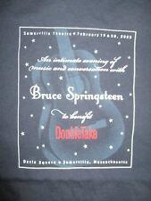 '03 An Evening of Music & Conversation BRUCE SPRINGSTEEN (LG Shirt SOMERVILLE MA