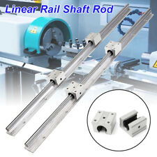 2PCS SBR12-700mm 12MM Linear Bearing Rail Slide Guide Shaft + 4X SBR12UU Blocks
