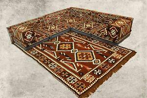 Orientalische Sitzkissen, Sark Kösesi, 12-tlg. Orientalisches Sofa, Shisha-Ecke