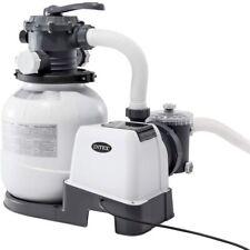 Pompa Filtro a Sabbia Krystal Clear 26646 per piscine 6000 Lt/h Intex pulizia