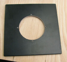 pattern  Sinar F & P fit  lens board panel with  compur 3 65mm hole