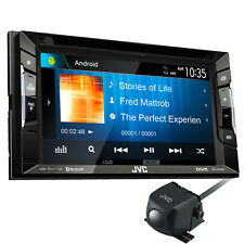 Jvc Kw-v230bt 6.2 Car Stereo Dvd Bluetooth Usb Iphone Ipod Android Bt Cd +CAMERA