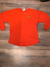 Vintage J America Reese's Orange Long Sleeve Shirt 3D Back. Reeses Candy