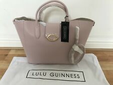 Lulu Guinness Pink leather bag New with tags