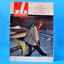 DDR Zeit im Bild ZB NBI 12/1965 Ägypten Leipzig Hannover DEFA Mörder a. Urlaub B