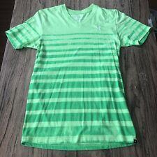 Hurley Neon V Neck Tee Shirt Size M #11349