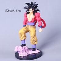 Anime Dragon Ball Z Super Saiyan 4 Goku PVC Action Figure Figurine Toy Gift 27CM
