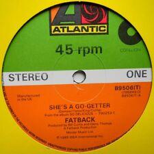 "12"" UK**FATBACK - SHE'S A GO-GETTER / EVIL / I LOVE YOU SO (ATLANTIC '85)**29790"
