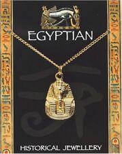Colgante egipcio Tutankhamun-Chapado en Oro