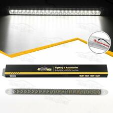 "17"" Sealed White 23 LED Backup Reverse Fog Light Bar Truck Trailer Surface Mount"