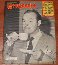 EVERYBODY'S 1953 UK Bob Hope Geisha Girls magazine