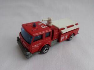 "Vintage Matchbox Lesney Superfast No29 Fire Pumper Truck RARE CODE RED ""LAFD"""