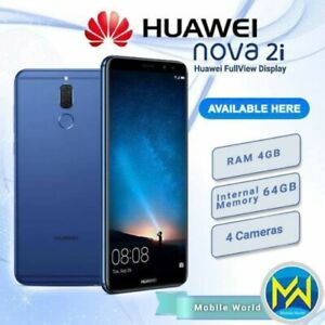 HUAWEI NOVA 2i 4+64/256GB KIRIN 659 OCTACORE DUAL SIM 4 CAMERA UNLOCKED