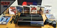 Super Sony PlayStation 3 80GB Console + 8 Games + Controller +Cable :0)