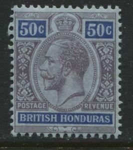 British Honduras KGV 1913 50 cents mint o.g.
